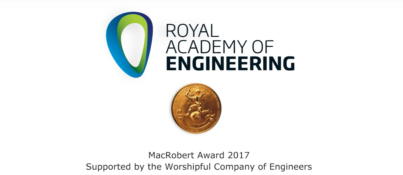 Vision RT selected as finalist for prestigious Royal Academy of Engineering Award