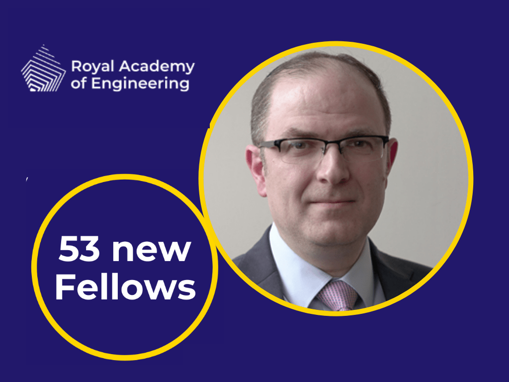 CEO of Vision RT elected fellow of the royal academy of engineering