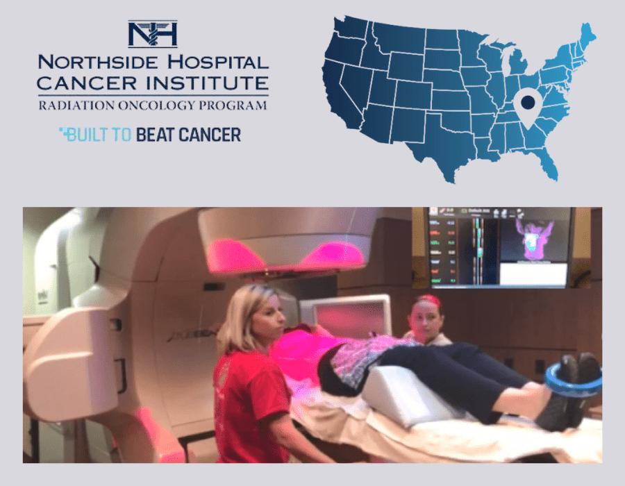 Northside Hospital Cancer institute with AlignRT technology