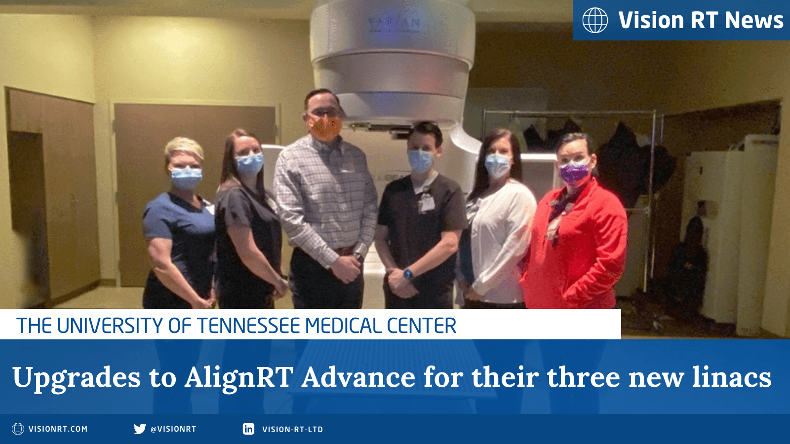 University of Tennessee medical center upgrade to AlignRT Advance Technology