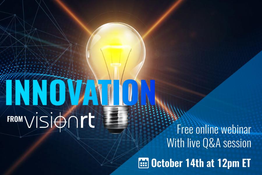 Innovation from Vision RT webinar